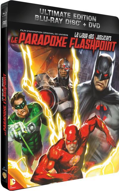 La Ligue des justiciers - Le paradoxe Flashpoint : Affiche