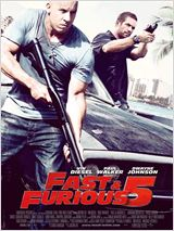 affiche film Fast and Furious 5