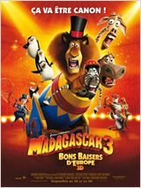 Regarder film Madagascar 3, Bons Baisers D'Europe streaming