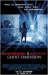Regarder film Paranormal Activity 5 Ghost Dimension streaming