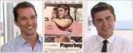"""Zac Efron & Matthew McConaughey effrayés par le scénario de """"Paperboy""""! [VIDEO]"""