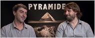 """Alexandre Aja et Gregory Levasseur : """"Pyramide brise les règles du found footage"""""""