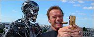 Terminator Genisys : Arnold Schwarzenegger, Emilia Clarke et le T800 prennent la pose