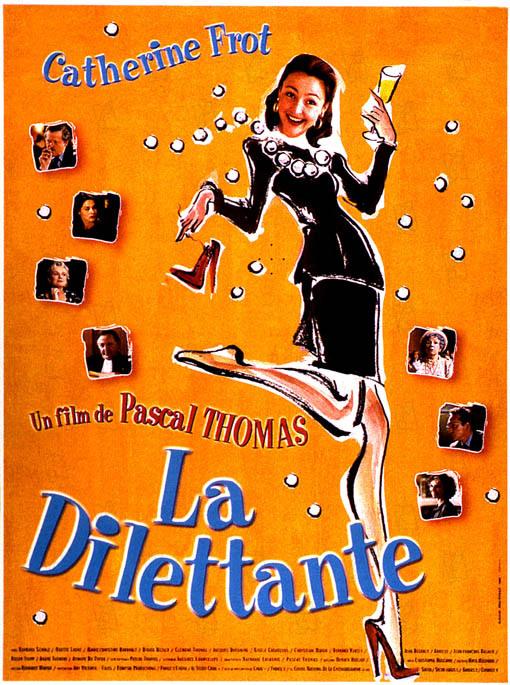 Download La Dilettante FRENCH Poster