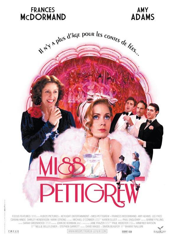 Miss Pettigrew FRENCH movie poster