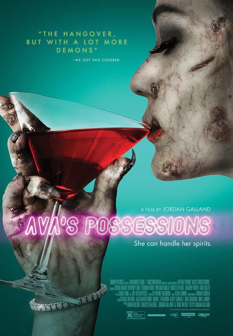 Ava's Possessions affiche