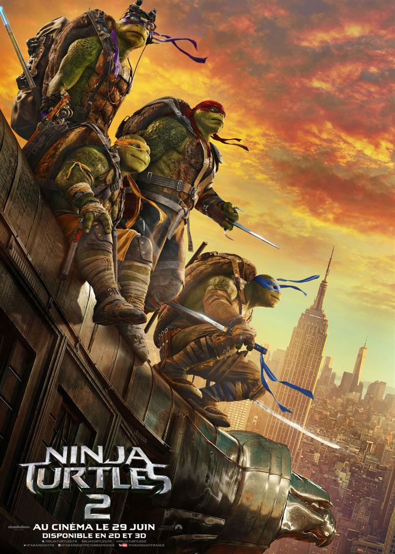Ninja Turtles 2 en streaming