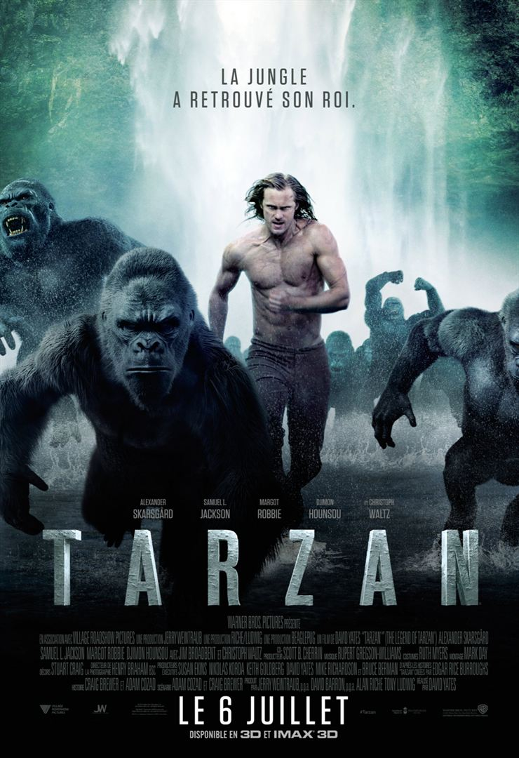 Tarzan Multilingue 1080p BluRay 2016