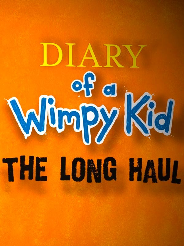 poster Diary Of A Wimpy Kid The Long Haul