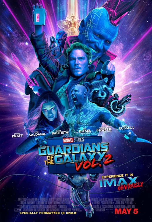 Les Gardiens de la Galaxie 2 en streaming