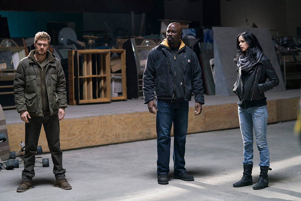 [Séries TV] Marvel's The Defenders (mini-série) 425670