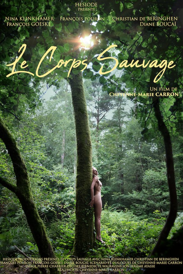 Le corps sauvage film affiche