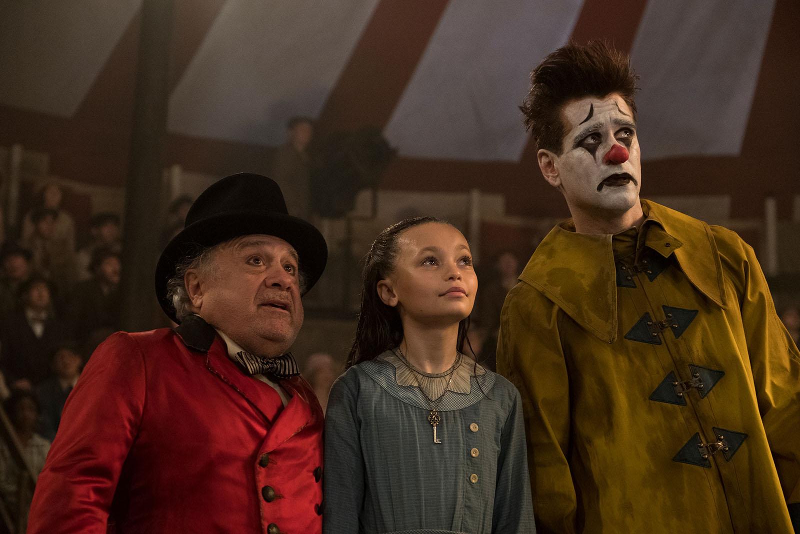 Dumbo avec Danny DeVito et Colin Farrell