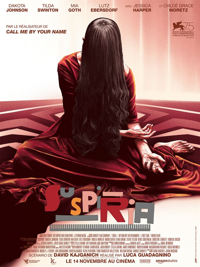 Suspiria remake affiche