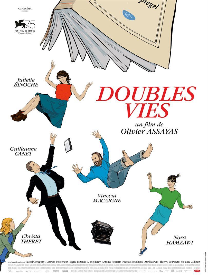 Affiche Doubles vies d'Assayas