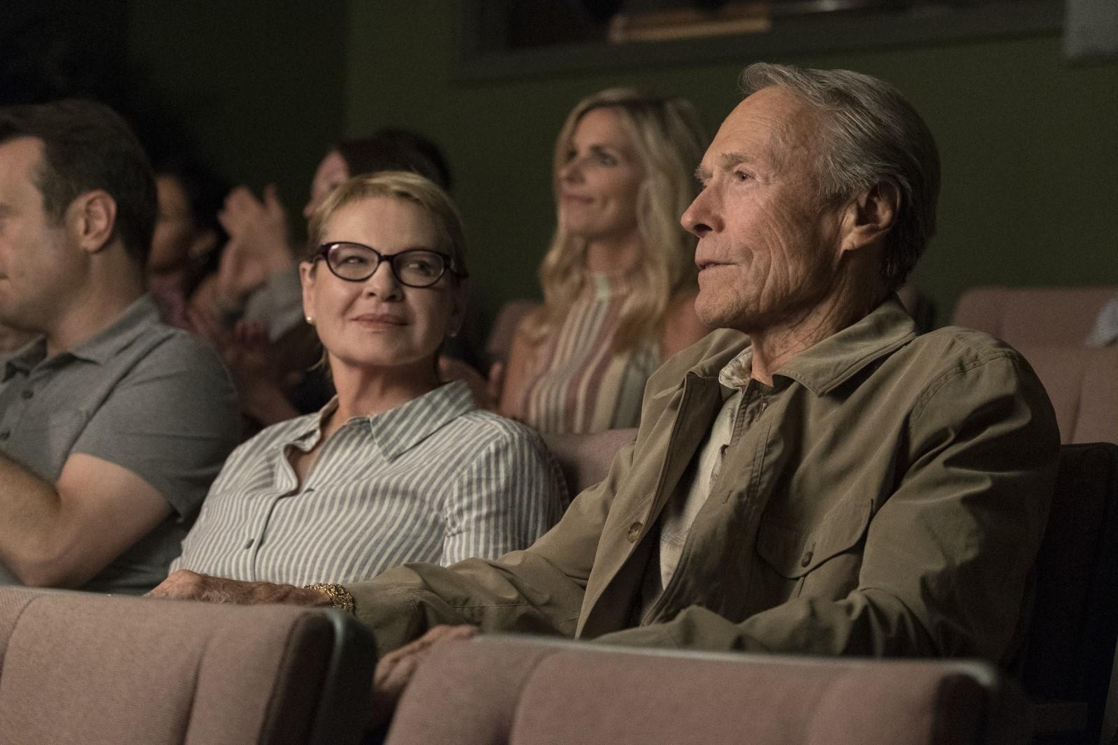 La mule avec Clint Eastwood