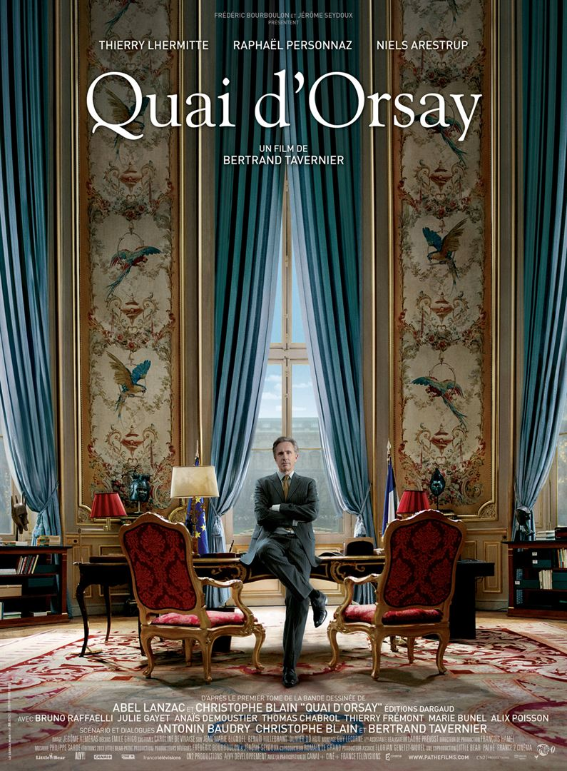Quai d'Orsay en streaming uptobox