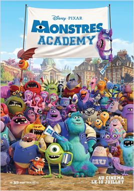 Monstres Academy en streaming