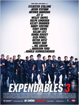 Expendables 3 en streaming