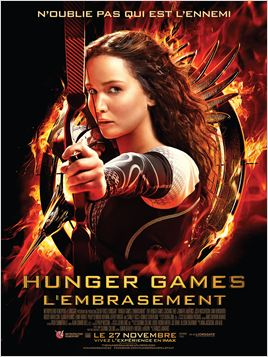 Hunger Games 2 L'embrasement en streaming