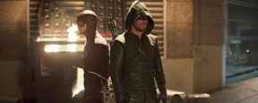 Flash vs Arrow : premières images du cross-over