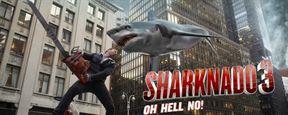 Sharknado 3 : pluie de requins prévue pour le 22 juillet !