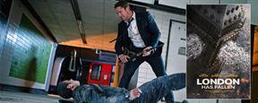 La Chute de Londres: Gerard Butler pétaradant dans un premier teaser explosif