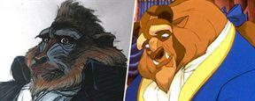 Découvrez à quoi ces héros animés ont failli ressembler...