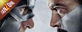 FanZone 503 : Captain America - Civil War, ENFIN la bande-annonce