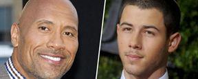 Jumanji : Dwayne Johnson et Nick Jonas prêts pour l'aventure sur une nouvelle photo