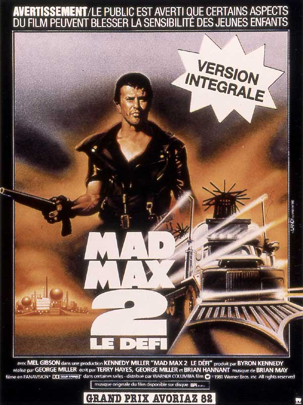 Mad Max 2 [Multilangues][Bluray 1080p]