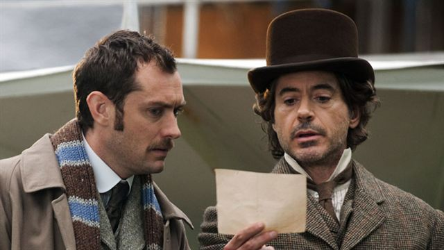 Deux films en préparation — Sherlock Holmes