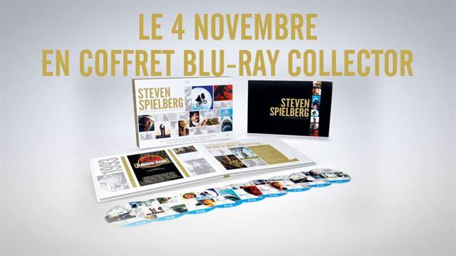 Bande-annonce coffret blu-ray Steven Spielberg