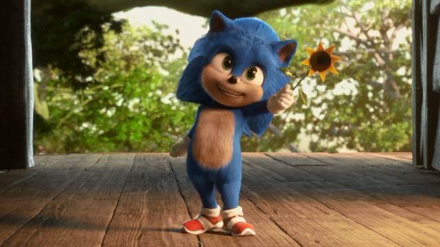"""Sonic le film EXTRAIT VF """"Bébé Sonic"""""""