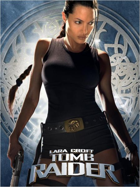 Lara Croft : Tomb raider : affiche Angelina Jolie, Simon West