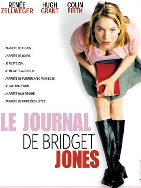 Le Journal de Bridget Jones : affiche Ren&#233;e Zellweger, Sharon Maguire