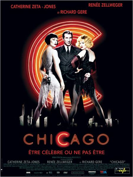 Chicago : affiche Catherine Zeta-Jones, Renée Zellweger, Richard Gere, Rob Marshall