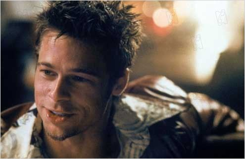 Fight Club : photo Brad Pitt, David Fincher