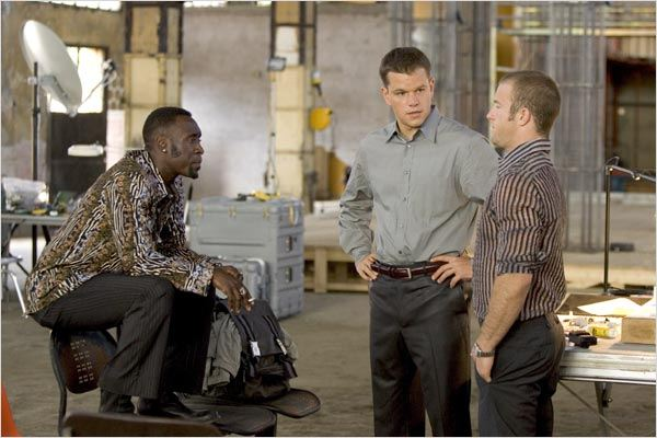 Ocean's Twelve : Photo Don Cheadle, Matt Damon, Scott Caan, Steven Soderbergh