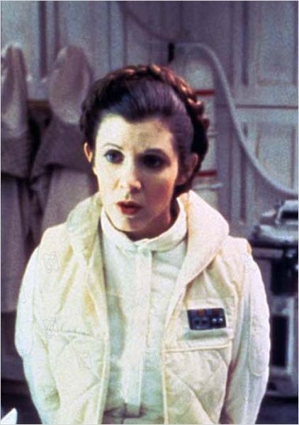 Star Wars : Episode V - L'Empire contre-attaque : photo Carrie Fisher, Irvin Kershner