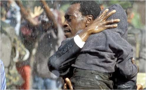 Hotel Rwanda : photo Don Cheadle, Terry George