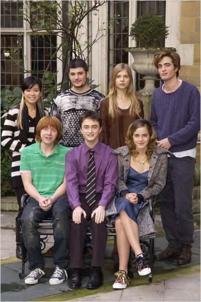 Harry Potter et la Coupe de Feu : Photo Clémence Poésy, Daniel Radcliffe, Emma Watson, Katie Leung, Mike Newell