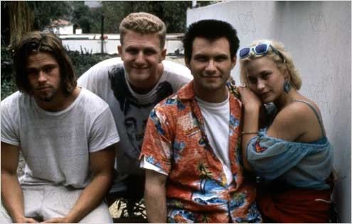 True Romance : photo Brad Pitt, Christian Slater, Michael Rapaport, Patricia Arquette, Tony Scott