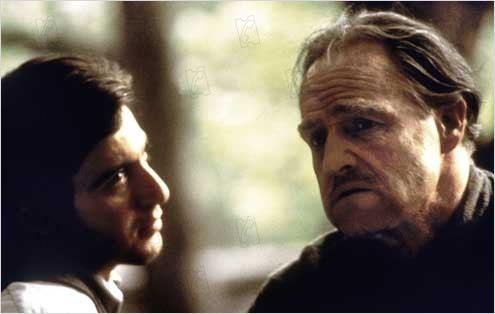 Le Parrain : Photo Al Pacino, Francis Ford Coppola, Marlon Brando