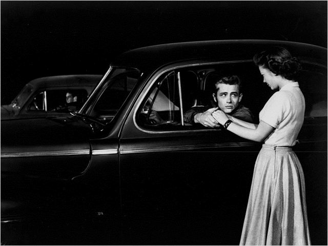 La Fureur de vivre : photo James Dean, Nicholas Ray