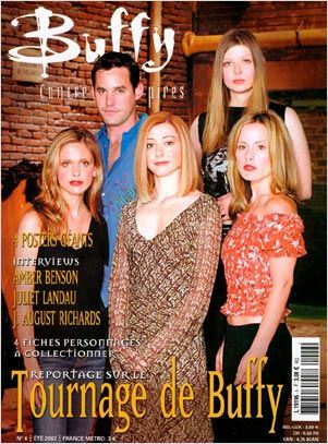 Buffy contre les vampires : Photo promotionnelle Alyson Hannigan, Amber Benson, Emma Caulfield, Nicholas Brendon, Sarah Michelle Gellar