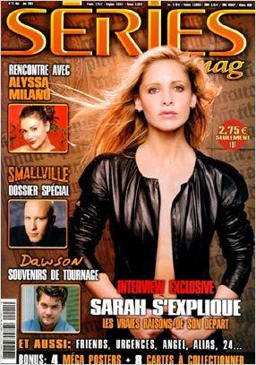 Buffy contre les vampires : Photo promotionnelle Sarah Michelle Gellar