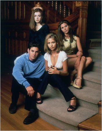 Buffy contre les vampires : Photo Alyson Hannigan, Charisma Carpenter, Nicholas Brendon, Sarah Michelle Gellar