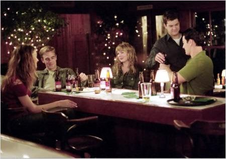 Dawson : Photo James Van Der Beek, Joshua Jackson, Katie Holmes, Kerr Smith, Michelle Williams