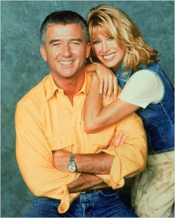 Notre belle famille : photo Patrick Duffy, Suzanne Somers